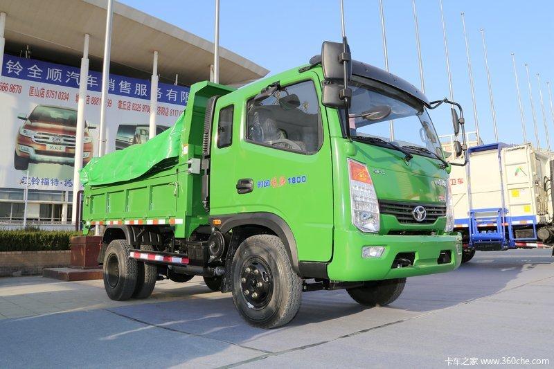 时风风驰110正方3.19米自卸车深圳市宝安区石岩衣柜马力厂图片