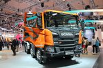 斯堪尼亚 G450 TX 8X4自卸车