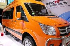图雅诺智蓝 5.99米纯电动封闭厢式运兵车