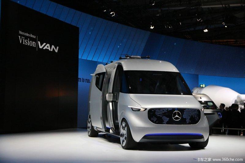 奔驰Vision Van 物流概念车