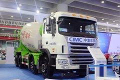 广州国际汽车展中集车辆展台
