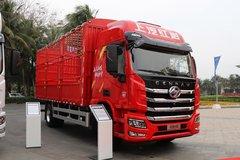 杰豹H6 240马力 4X2 6.5米仓栅式载货车(国六)