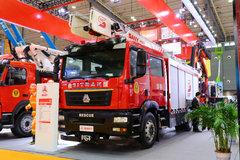中国重汽 汕德卡SITRAK C5H 310马力 4X2 泡沫消防车