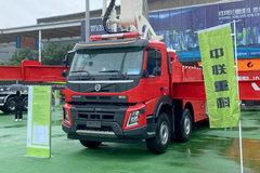 沃尔沃 FM重卡 540马力 10X4 大跨距特种举高喷射消防车